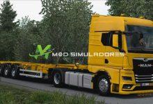 Caminhão Man TGX e GX 2020 Para V.1.39.X - ETS2