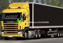Caminhão Scania R&S 124G Para V.1.39.X - ETS2