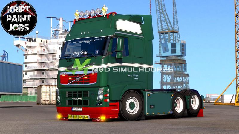 Caminhão Volvo FH16 2009 Viking Para V.1.39.X - ETS2