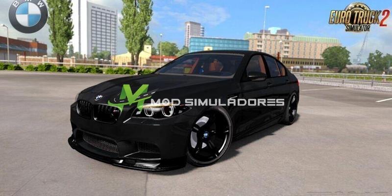 Carro BMW M5 F10 e Interior V1.5 Para V.1.39.X - ETS2