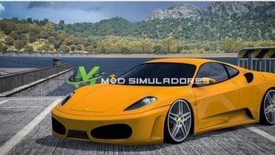 Carro Ferrari F430 Unal Turan 34 VUH 58 Para V.1.39.X - ETS2