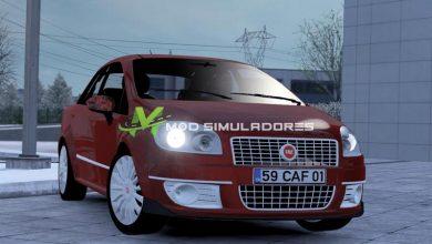 Carro Fiat Linea Para V.1.39.X - ETS2
