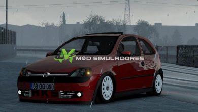 Carro Opel Corsa C e Fix Para V.1.39.X - ETS2