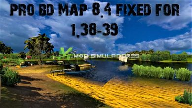 Mapa Pro BD V8.4 Atualizado Para V.1.39.X - ETS2