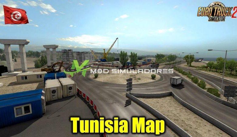 Mapa Tunisia V1.0.1 (DEMO) Para V.1.39.X - ETS2