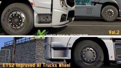 Mod Rodas dos Caminhões Aprimoradas V.2.0 Para V.1.39.X - ETS2