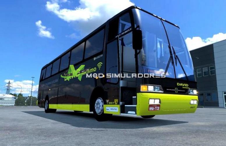 Ônibus Mercedes-Benz Busscar Vissta 99 Para V.1.39.X - ETS2