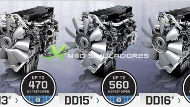 Pack Motores combinados V1.0 Para V.1.39.X - ETS2