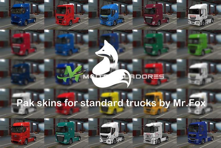 Pack Skins Russas para Caminhões V.0.4.2 Para V.1.39.X - ETS2