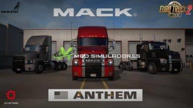 Caminhão Mack Anthem V.2.2 Para V.1.39.X - ETS2