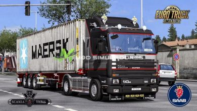 Caminhão Scania 143 Melhorado V.1.39.X - ETS2
