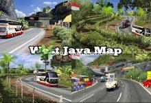 Mapa Indonésia West Java V.1.39.X - ETS2