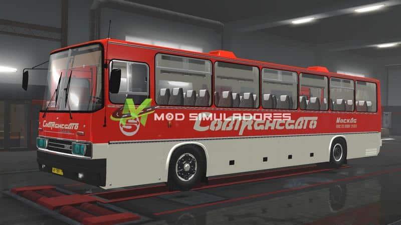 Ônibus Ikarus 250-59 e Passageiros Para V.1.39.X - ETS2
