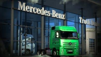 Caminhão Mercedes 2651 Para V.1.39.X - ETS2