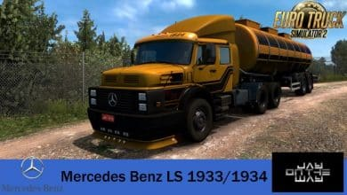 Caminhão Mercedes-Benz LS 1933-1934 Para V.1.40.X - ETS2