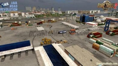 Mapa Java Road Revolution V.0.2 Para V.1.40.X - ETS2-1