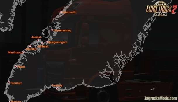 Mapa Projeto Greenlandia V.0.20 Para V.1.40.X - ETS2-1