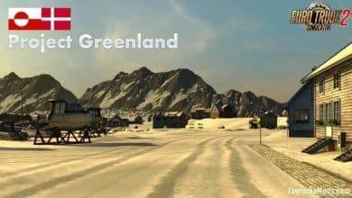 Mapa Projeto Greenlandia V.0.20 Para V.1.40.X - ETS2