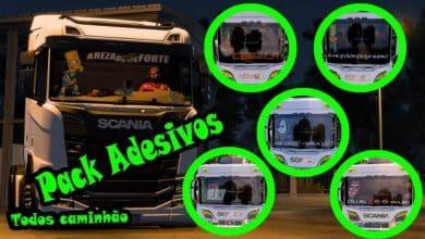 Pack Adesivos Caminhões Para V.1.40.X - ETS2
