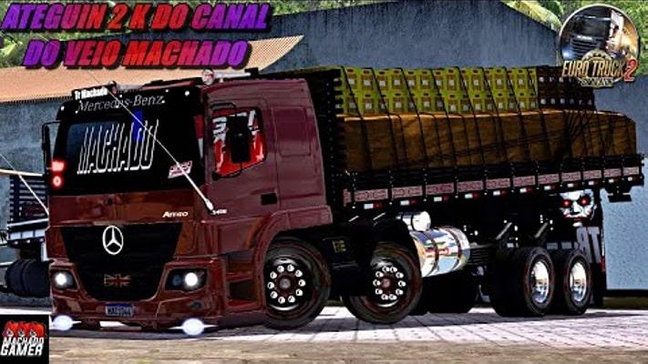 Caminhão Atego 2426 Para V.1.40.X - ETS2