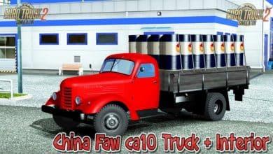 Caminhão China Faw CA10 V2.0 Para V.1.41.X - ETS2
