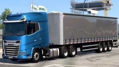 Caminhão DAF XG Edit BR Para V.1.40.X - ETS2