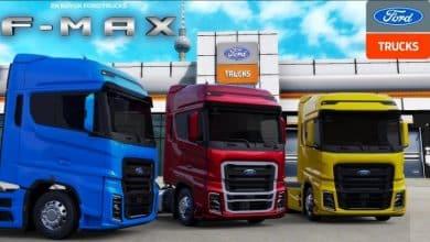 Caminhão Ford Trucks F-MAX V2.2 Para V.1.40.X - ETS2