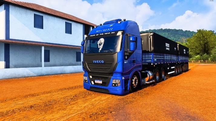 Caminhão Iveco Hi-Way Para V.1.40.X - ETS2