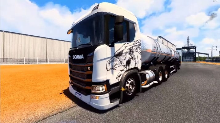 Caminhão Scania Malaquias Para V.1.40.X - ETS2