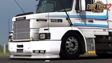 Caminhão Scania Series MegaMod v1.1 Para V.1.40.X - ETS2