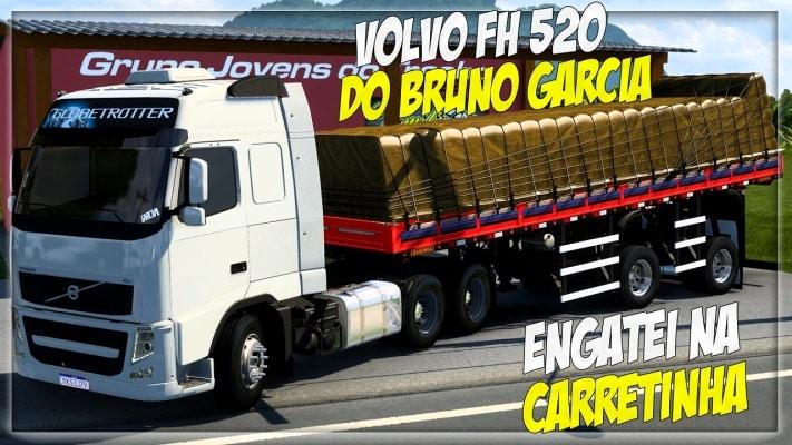Caminhão Volvo FH 520 Para V.1.40.X - ETS2