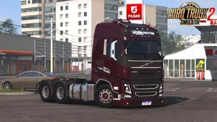 Caminhão Volvo FH16 2012 V.1.1 Para V.1.40.X – ETS2