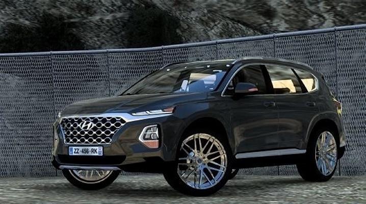 Carro Hyundai Santa Fe TM V.2.0 Para V.1.40.X - ETS2