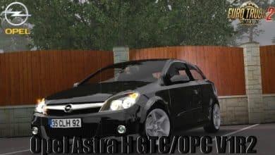 Carro Opel Astra H GTC OPC v1.6 Para V.1.40.X - ETS2