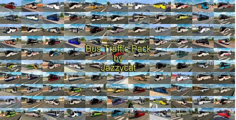 Pack Tráfego Ônibus V.11.8.1 Para V.1.40.X - ETS2