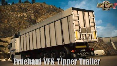 Reboque Fruehauf VFK Tipper V 1.0.2 Para V.1.40.X - ETS2