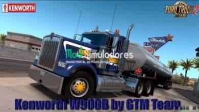 Caminhão Kenworth W900B e Interior v1.3 Para V.1.40.X - ETS2