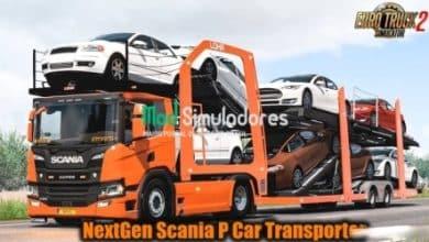 Caminhão NextGen Scania P v7.0 Para V.1.40.X - ETS2