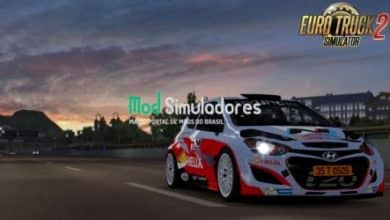 Hyundai i20 WRC e Interior v1.6 (1.40.X) ETS2