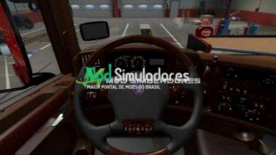Interior Scania RJL V1.0 Para 1.40.X - ETS2