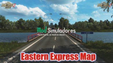 Mapa Eastern Express Para 1.40.X - ETS2