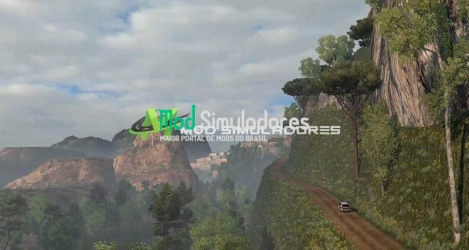 Mapa Estradas Perigosas Para 1.40.X - ETS2