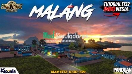 Mapa Malang v1.7 (1.42) ETS2