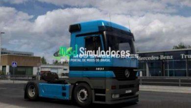 Mercedes Actros MP1 Para 1.40.X - ETS2