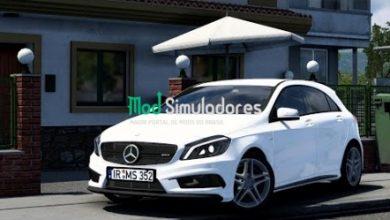 Mercedes Benz A45 e Interior v1.7 (1.41) ETS2