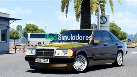 Mercedes Benz W201 190E e Interior v3.1 (1.41) ETS2