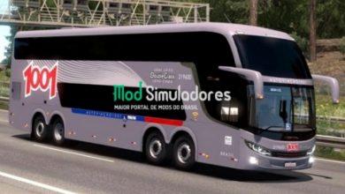 Ônibus Comil Invictus DD e Sons Para 1.39.X - ETS2