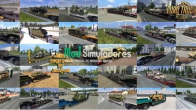 Pack Cargas Militares v5.1.1 by Jazzycat (1.41) ETS2