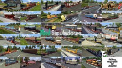 Pack Cargas de Trens v2.1.7 por Jazzycat (1.41) ETS2