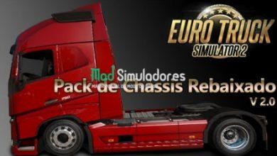 Pack Chassis Rebaixados V2.0 by Nescau (1.40) ETS2